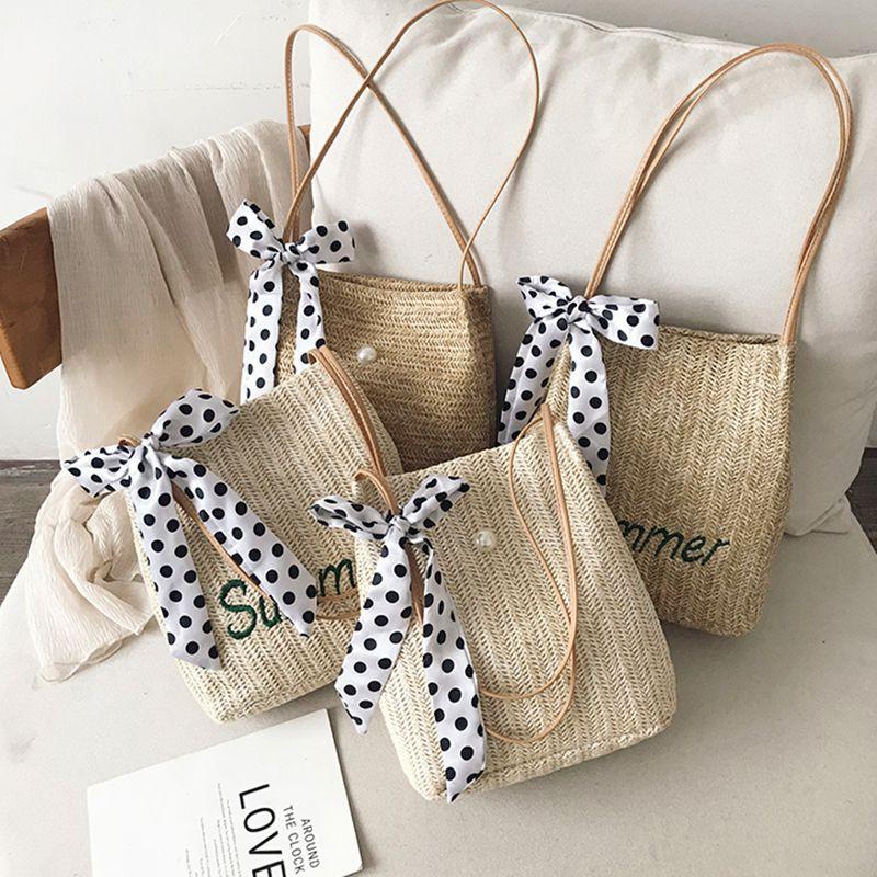 Túi đeo chéo đan lát thủ công cho