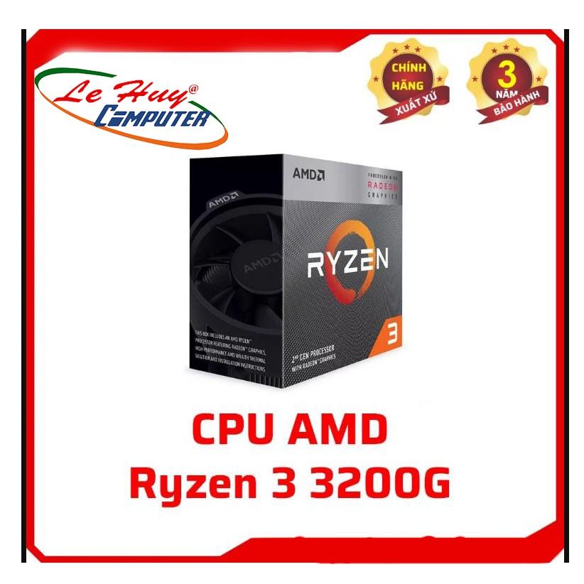 CPU AMD RYZEN 3 3200G NEW BẢO HÀNH 36 THÁNG
