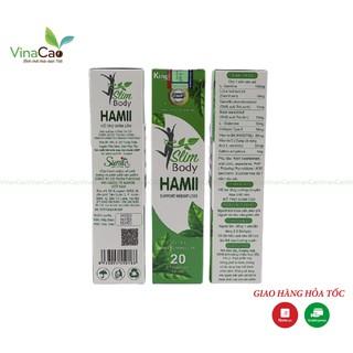 (3 tặng 1) Viên sủi giảm cân cấp tốc Slim Body Hamii - Giảm cân nhanh, an toàn, không cần ăn kiêng thumbnail