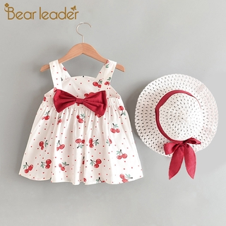 Bộ váy gồm 2 món váy công chúa in họa tiết dùng cho bé gái AX1122PL
