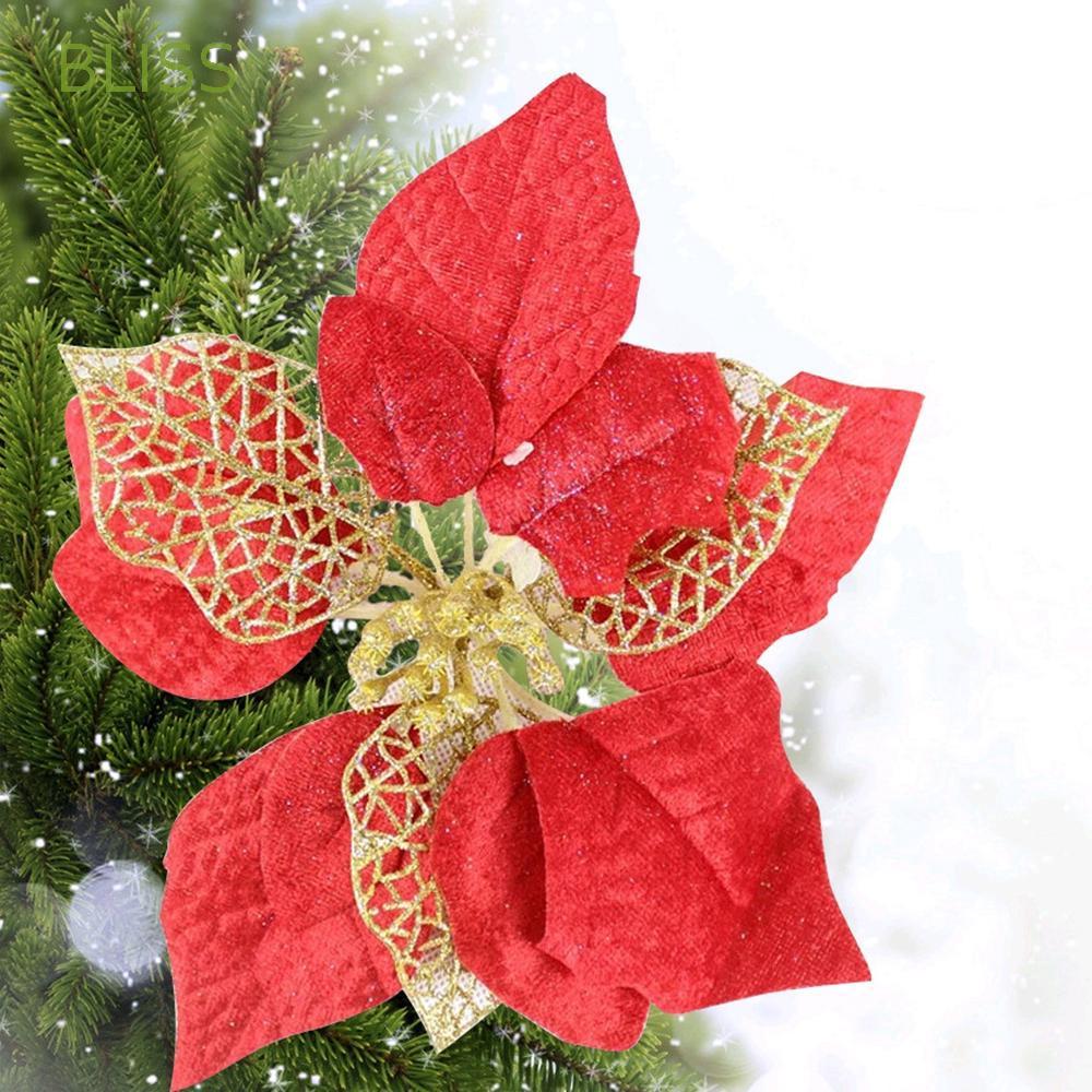 Hoa giả dùng trang trí cây thông Giáng Sinh - 23012989 , 6806435654 , 322_6806435654 , 18900 , Hoa-gia-dung-trang-tri-cay-thong-Giang-Sinh-322_6806435654 , shopee.vn , Hoa giả dùng trang trí cây thông Giáng Sinh