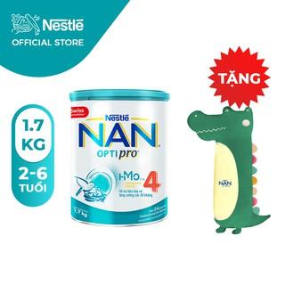 Sữa Bột Nestle NAN Optipro 4 (1.7kg) [Tặng gối ôm Cá Sấu]