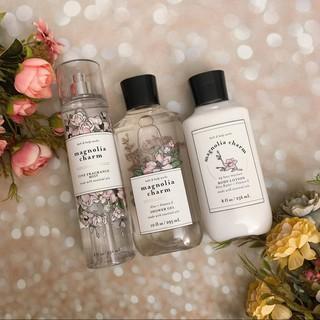 [Bill USA] Magnolia charm Bộ Sản Phẩm sữa tắm dưỡng thể xịt thơm toàn thân Bath and Body Works thumbnail