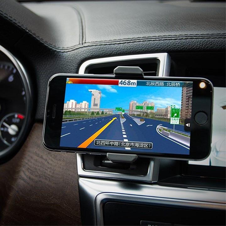 Giá đỡ điện thoại Hoco CPH01 trên xe hơi, sử dụng đa năng tiện dụng, tương thích các thiết bị dưới 6.5 inch
