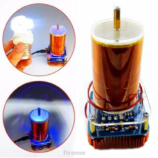Acrylic Assembled Educational Electronic Mini Science Toy Model Wireless Music Coil Set