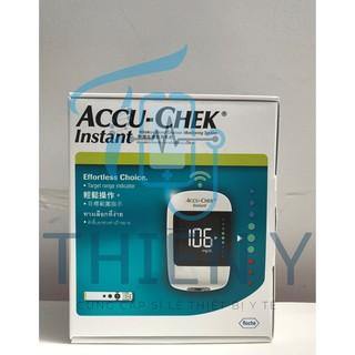 Máy đo đường huyết Chính Hãng Accu Chek Instant - Tặng kèm khẩu trang Famapro 4 lớp (1 túi 10 cái) thumbnail