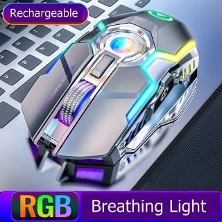 Chuột Chơi Game Kết Nối Bluetooth 1600dpi 7 Nút Bấm Chuyên Nghiệp 2.4ghz