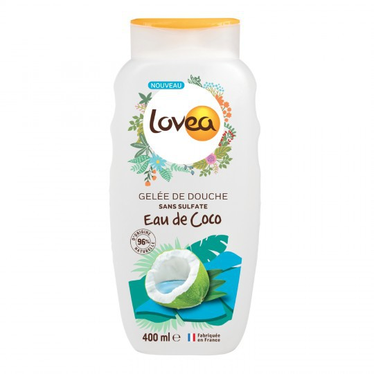 Gel Tắm Lovea Nước Dừa 400ML