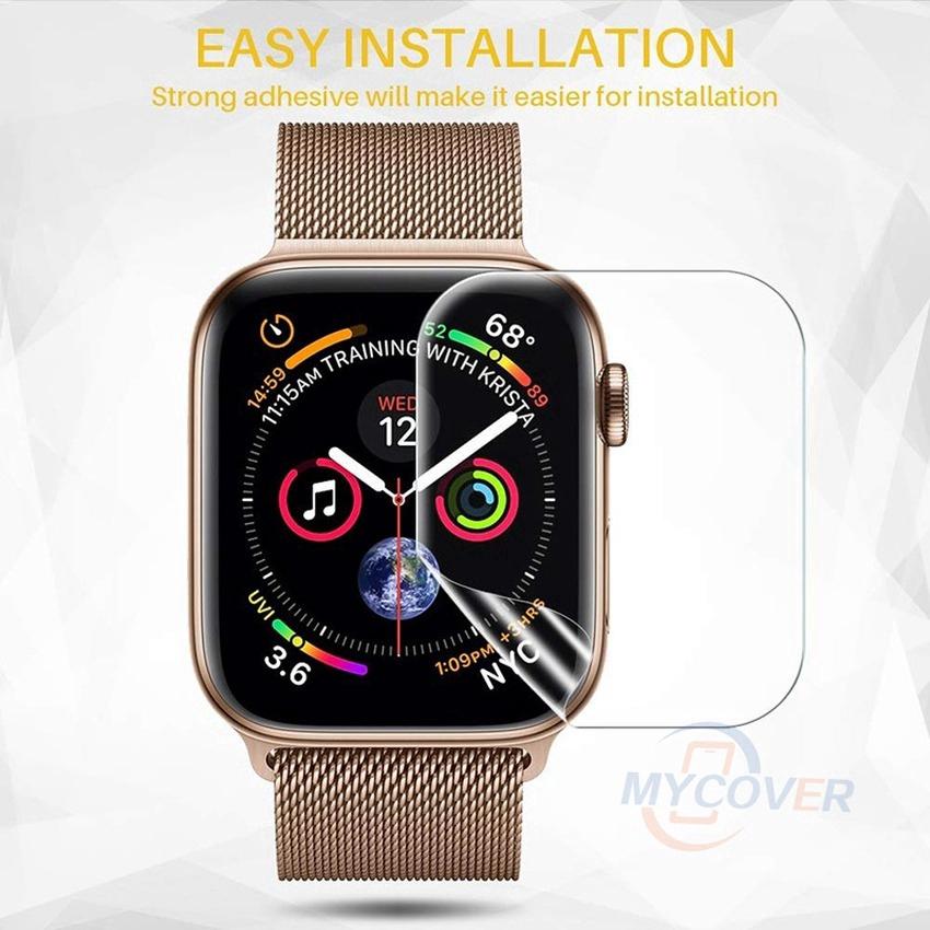 Miếng dán bảo vệ màn hình đồng hồ thông minh iWatch 5 4 3 2 1 kích thước 40MM 44MM 38MM 42MM