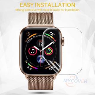 Miếng dán bảo vệ màn hình đồng hồ thông minh iWatch 5 4 3 2 1 kích thước 40MM 44MM 38MM 42MM thumbnail