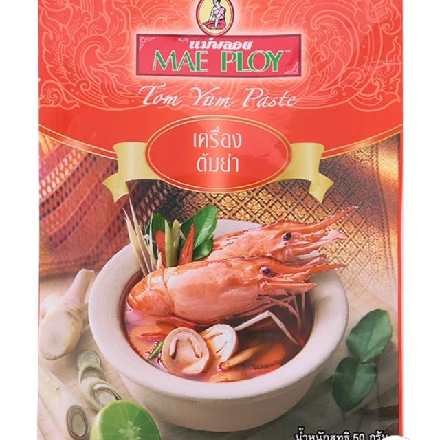 Gia Vị Lẩu Thái Tôm Yum Mae Ploy 50g - 2506750 , 979647867 , 322_979647867 , 25000 , Gia-Vi-Lau-Thai-Tom-Yum-Mae-Ploy-50g-322_979647867 , shopee.vn , Gia Vị Lẩu Thái Tôm Yum Mae Ploy 50g