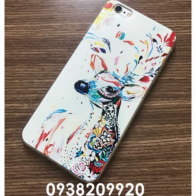 IPHONE 6 / 6+ / 7 / 7+ - Ốp silicon hưu in nổi