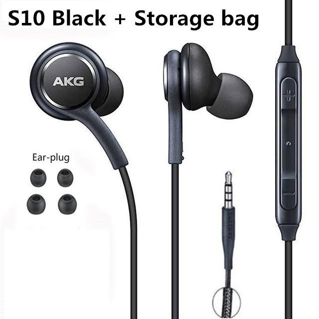 Tai nghe nhét tai 3.5mm âm siêu trầm có mic cho Samsung Galaxy S8 S9 S10
