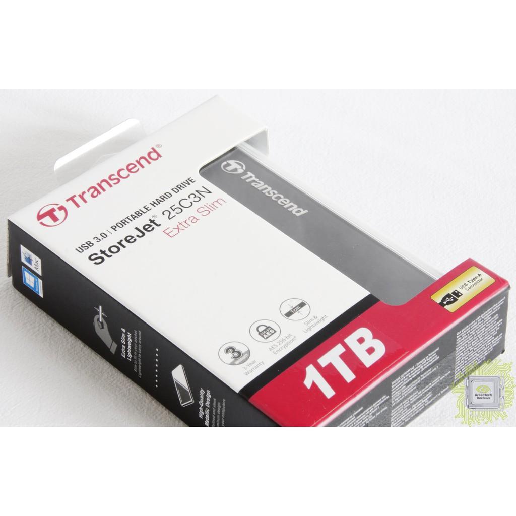 Ổ Cứng Gắn Ngoài 1TB Storejet2.5 C3N Portable HDD