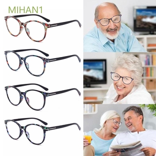 MIHAN1 Women & Men Vintage Round Floral Frame Anti Glare Ultra-clear Vision Reading Glasses