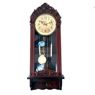 Đồng hồ treo tường quả lắc HA3+tặng 1 đôi pin panasonic