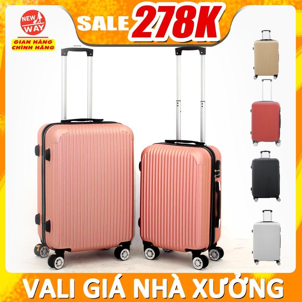 [Mã SKAMAP6 giảm 8% TỐI ĐA 50K đơn250K] vali du lịch BAMOZO 8801 vali kéo nhựa được bảo hành