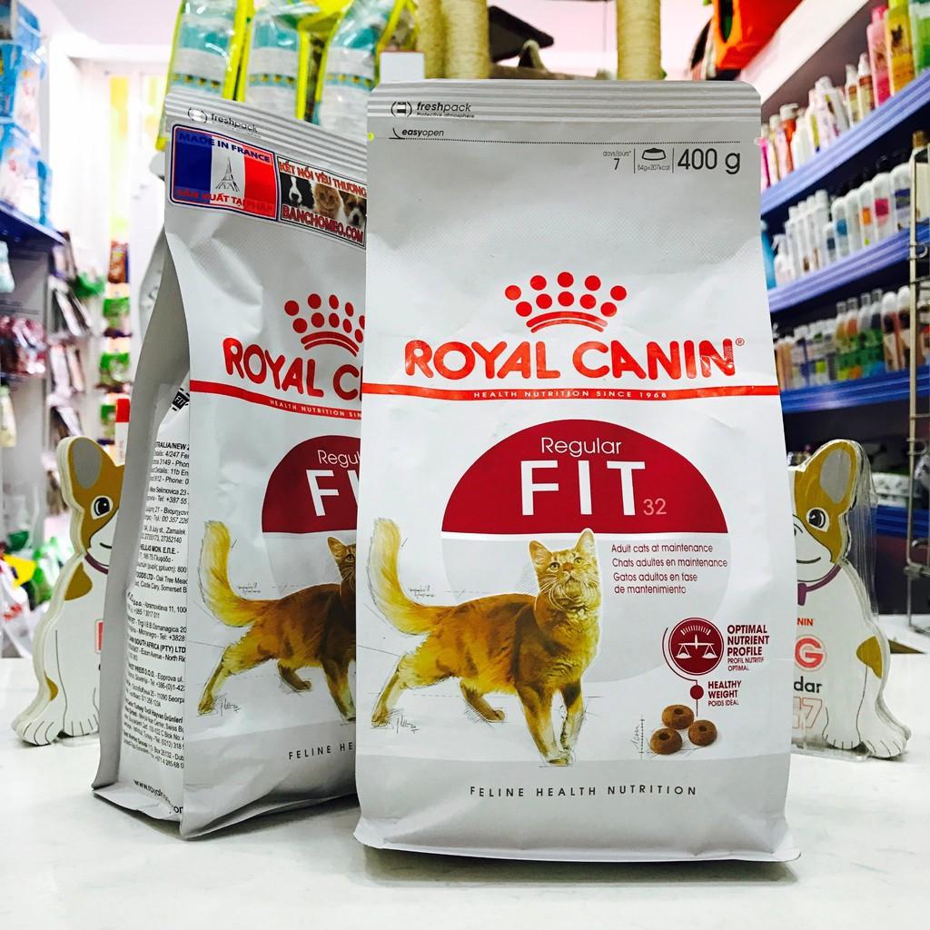 Thức ăn cho mèo trưởng thành Royal Canin Fit 32 túi 400g