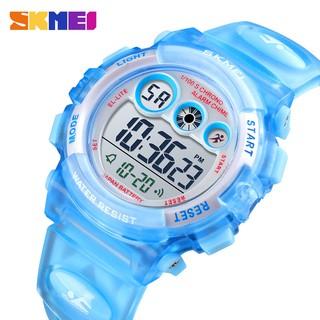 Đồng hồ trẻ em dây nhựa siêu biền, siêu chống nước SKMEI1451