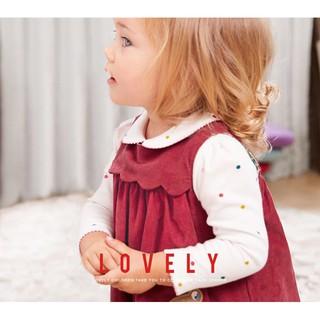 Váy tay cộc hình gấu đáng yêu cho bé chất liệu 100% cotton hàng xuất khẩu Âu Mỹ