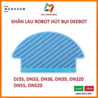 Khăn lau cho Robot hút bụi lau nhà Ecovacs DN33 DN39 DN55 DJ35 phụ kiện Robot hút bụi