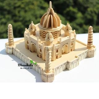 Đồ chơi lắp ráp gỗ 3D Mô hình Đền TAJ MAHAL