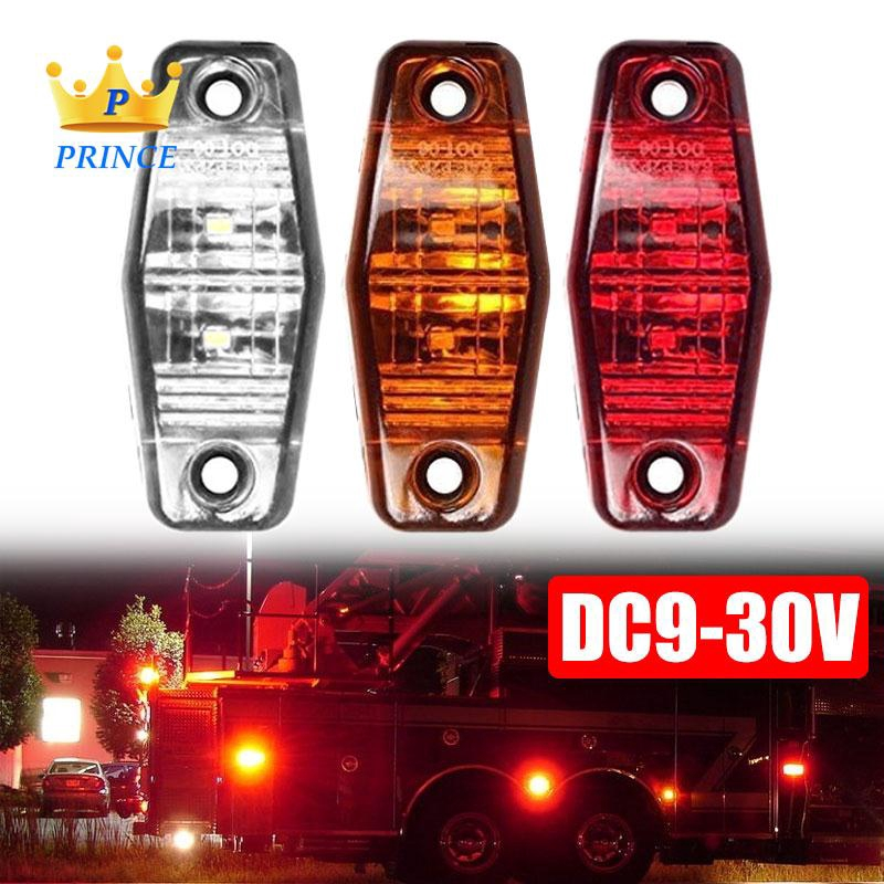Ready Stock Side Light 12/24V 2LED Truck Universal