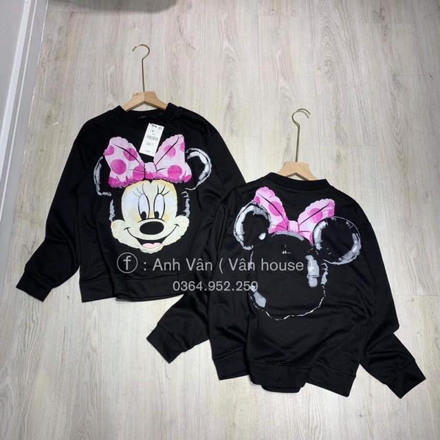 Mới Hot- Áo Nỉ Hoodie in hình Mickey
