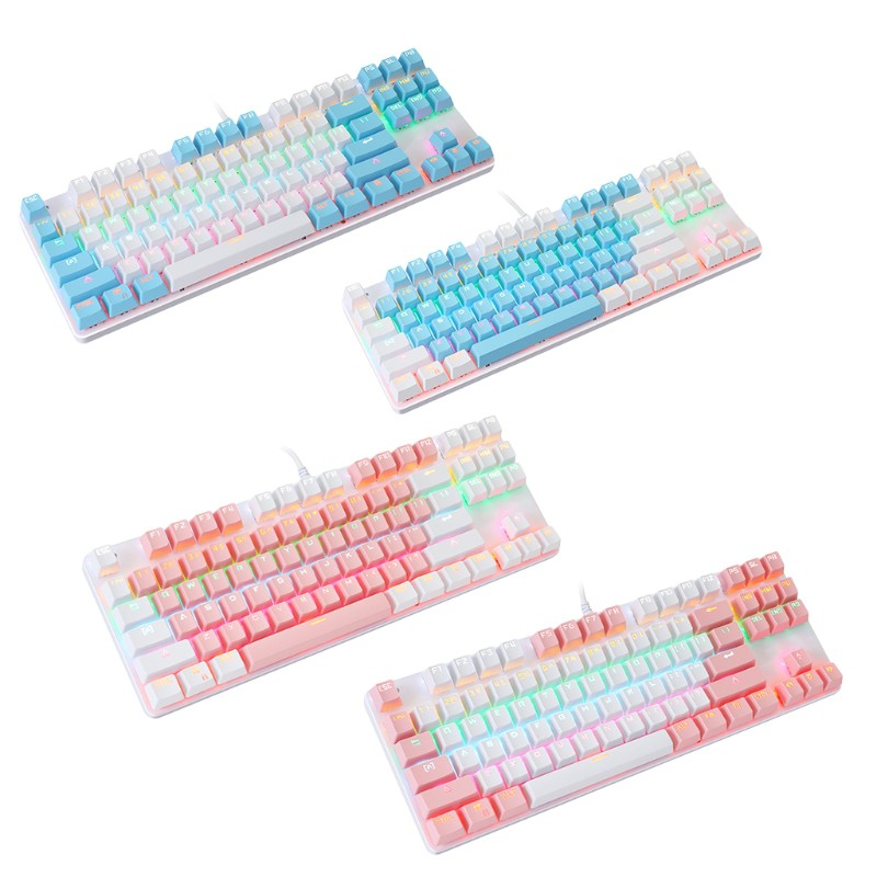 Bàn Phím Cơ Gaming Fun K100 87 Phím Cho Pc Laptop
