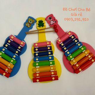 Đàn gỗ cho bé💕Freeship💕Đàn Xylophone 8 thanh loại đẹp cho bé