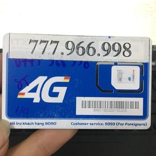 Sim số đẹp Mobifone 4G giá rẻ chưa từng có