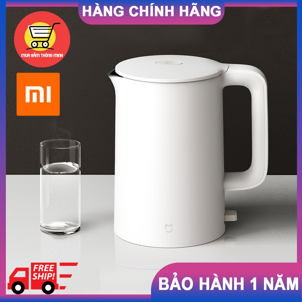 [5 PHÚT NƯỚC SÔI] Ấm đun nước siêu tốc Xiaomi MIJIA 1A - Bình đun nước Xiaomi 1A – HÀNG CHÍNH HÃNG