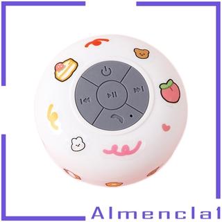 Loa Bluetooth Không Dây Chống Nước Có Giác Hút Gắn Tường Almencla1