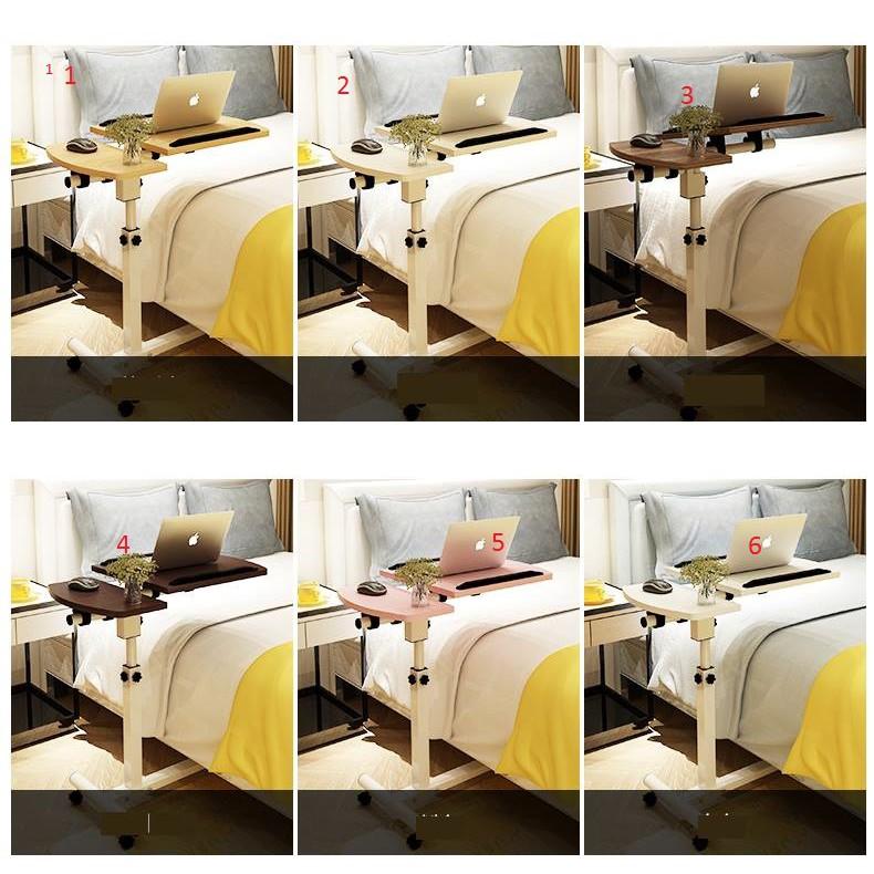 [ FREE SHIP] Bàn Di Động Bàn Laptop Bàn Học cho bé Có Bánh Xe Tiện Lợi Bàn làm việc tại nhà