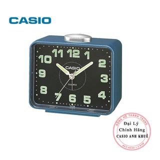 Đồng hồ để bàn Casio TQ-218-2DF báo thức, dạ quang cỡ to