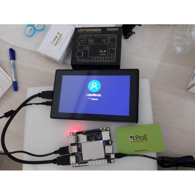 Màn hình cảm ứng điện dung 7inch (H) HDMI LCD kèm vỏ hộp, 1024x600, IPS