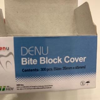 Bao phim nha khoa Bite Block Cover hãng Denu Hàn Quốc (Hộp 300 cái)