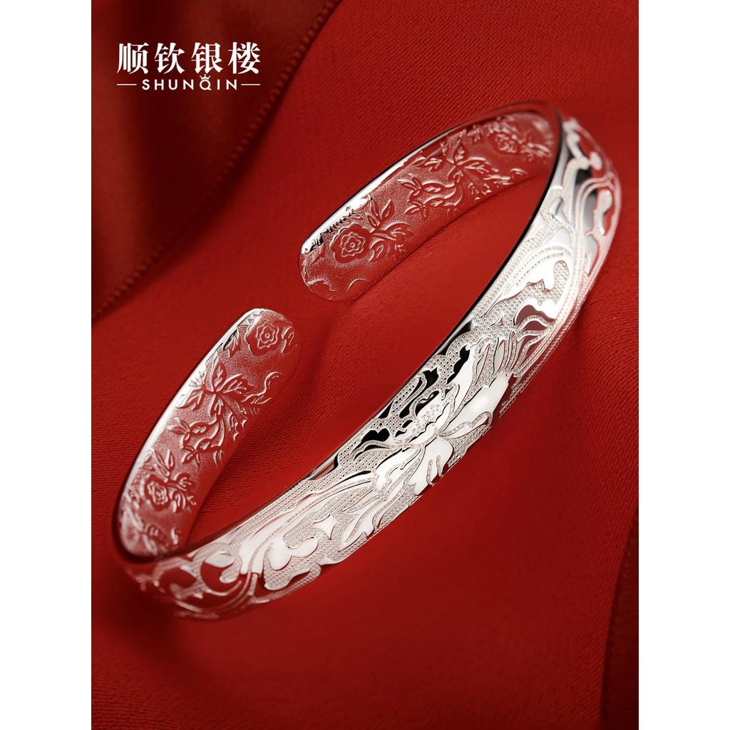 vòng đeo tay xi mạ bạc