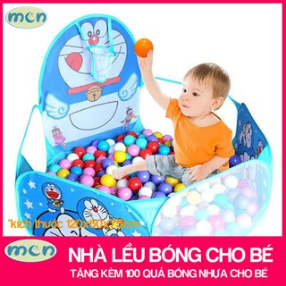 nhà lều bóng cho bé / lều nhà bóng cho trẻ – Tặng Kèm 100 Quả Bóng Nhựa Cho Bé