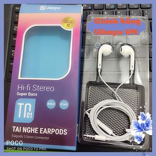Tai nghe nhét tai có dây âm thanh Hi-Fi Stereo hàng chính hãng việt nam VIKOPA bảo hành chính hãng 1 năm