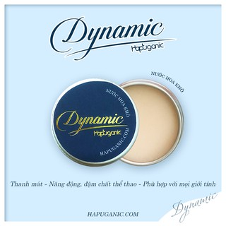 Nước Hoa Khô HaPuganic - Nước Hoa Sáp Bỏ Túi Mùi Dynamic (Xanh) thumbnail