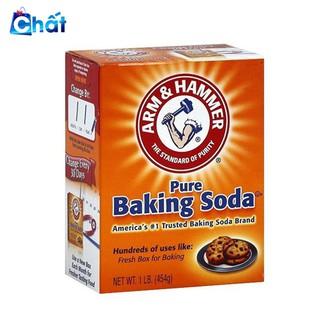Bột Baking Soda đa công dụng khử mùi, diệt khuẩn, tẩy rửa, làm bánh, chăm sóc da 454g
