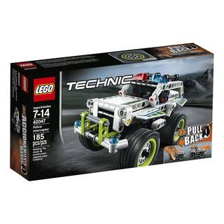 Lego TECHNIC 42047 – Police Interceptor / 185 pieces Xe cảnh sát