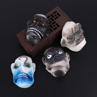 DE❀4Pcs Halloween Mini Ghost Monster Finger Puppets Play Children Story-telling Toy