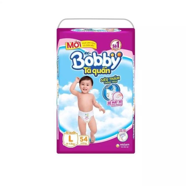 BỈM BOBBY TÃ QUẦN L54