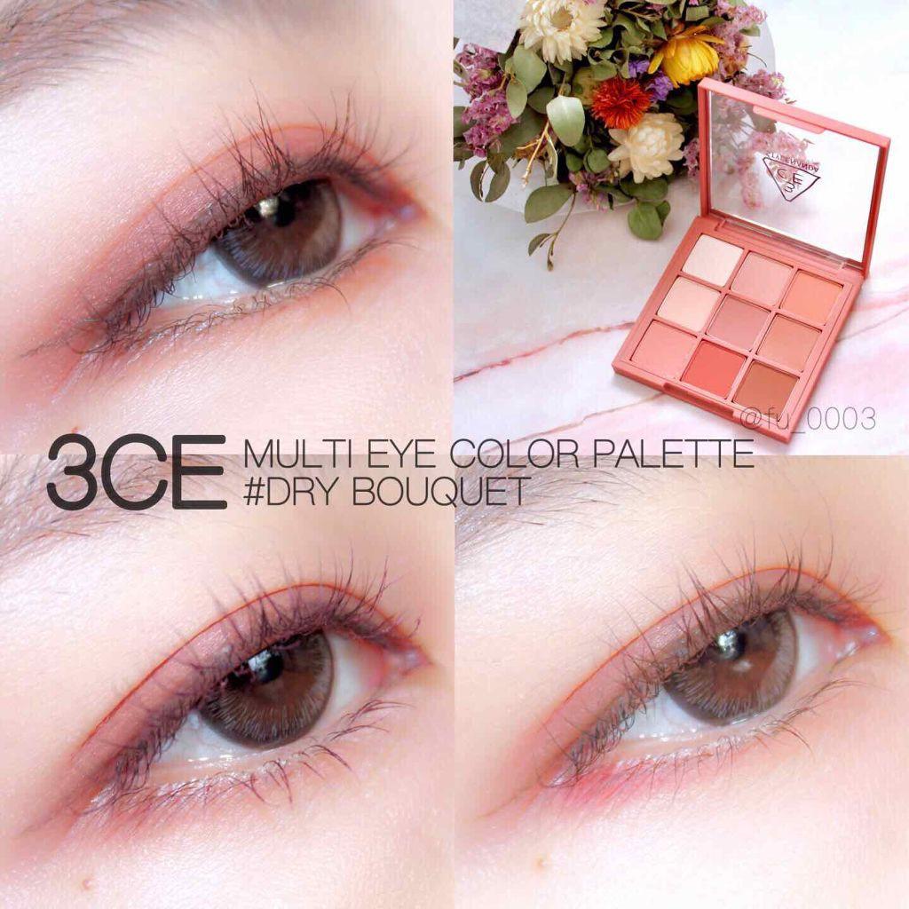 Bảng phấn mắt 3CE Multi Eye Color Palette #Dry Bouquet   Shopee ...
