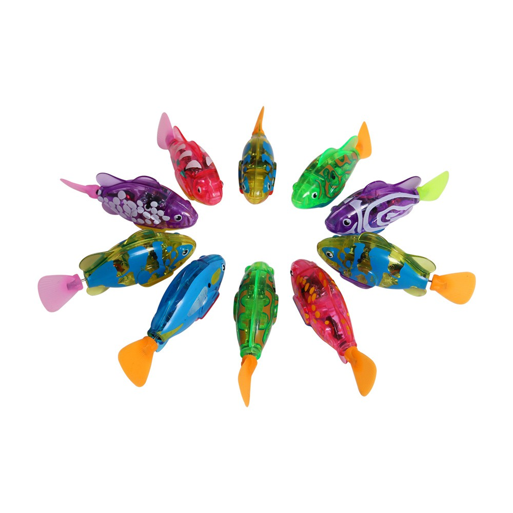 Combo 5 con cá điện tử bơi trong nước cho bé yêu vui chơi an toàn