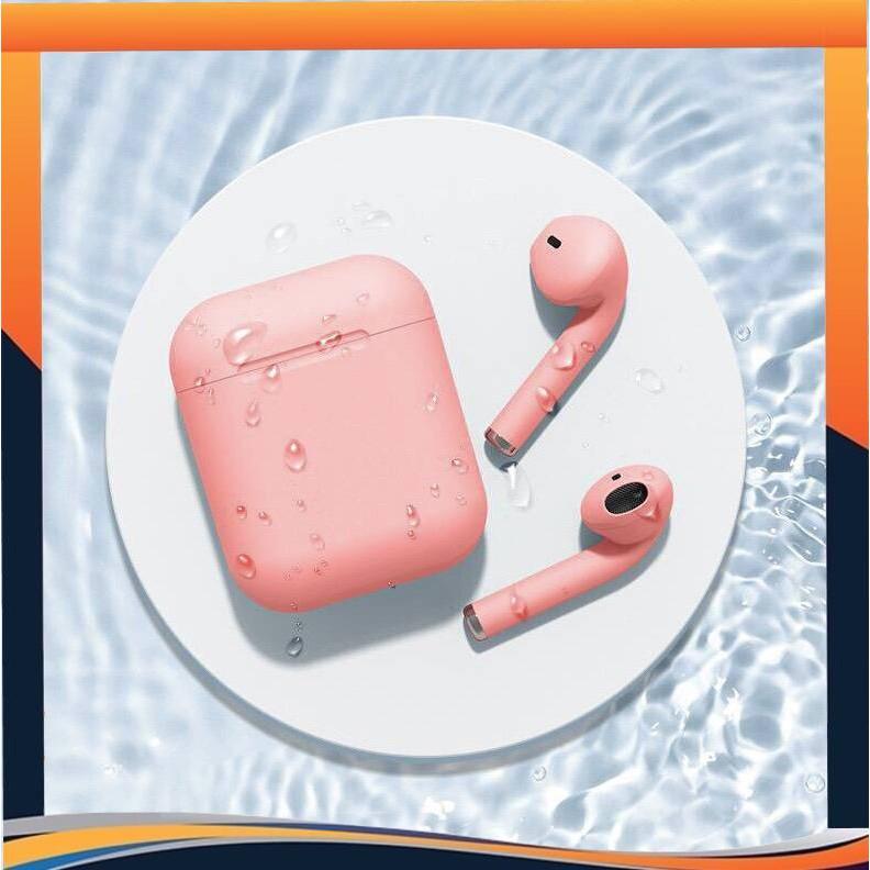 Tai nghe không dây màu dễ thương Tai nghe Bluetooth I12 HiFi Thể thao Earbud Nhiều màu sắc