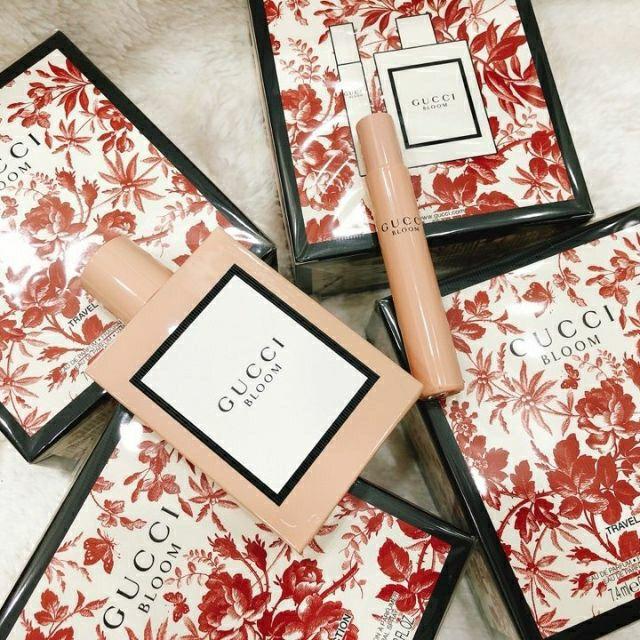 Set nước hoa Gucci Bloom 2 món (50ml, 7.4ml) | Shopee Việt Nam
