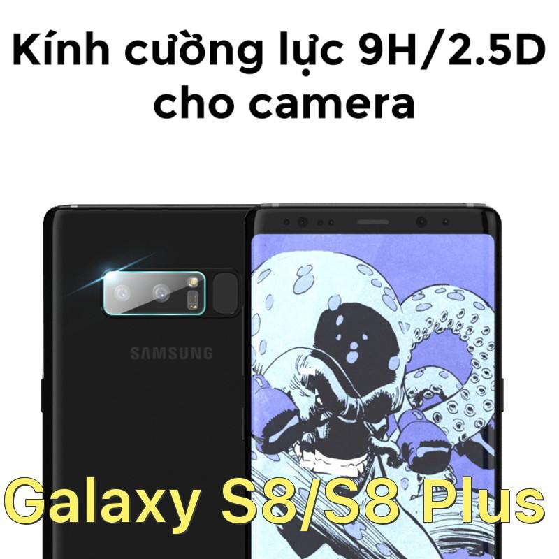 Dán cường lực bảo vệ camera cho Samsung Galaxy S8/S8 Plus